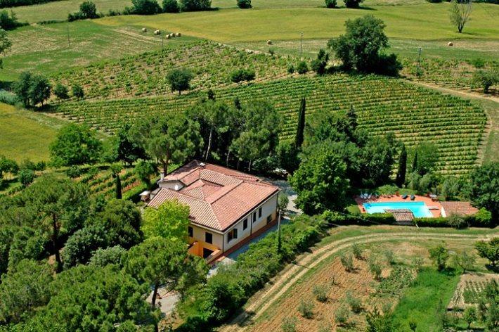 louer villa Toscane