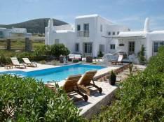 location villa Paros piscine