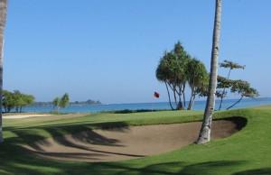 Golf front de mer
