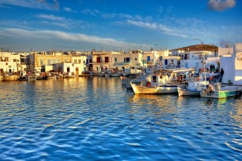 Mykonos-port-grece