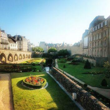 jardin et remparts
