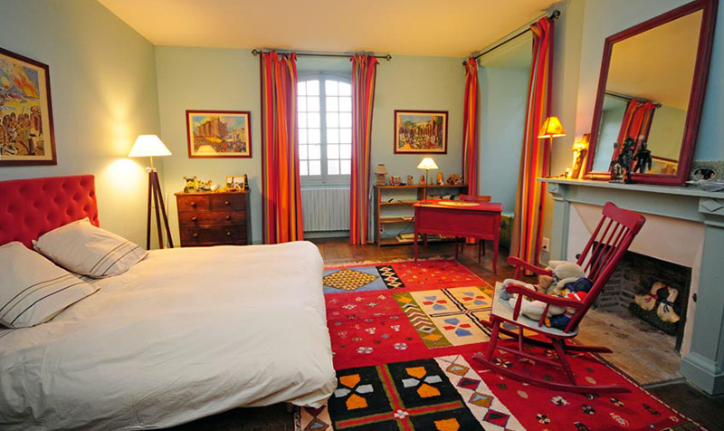 chambre chateau