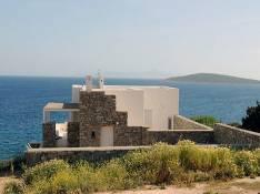 Vue maison Paros