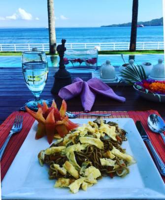 villa-avec-personnel-lunch