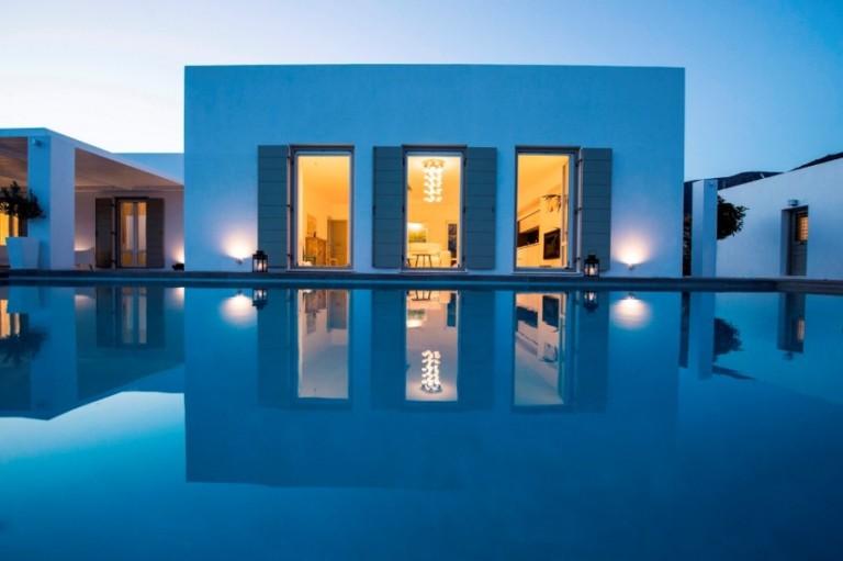villa louer grece
