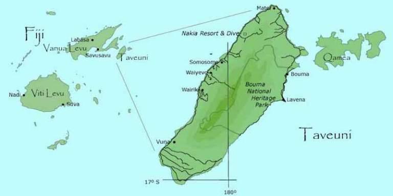 ile de taveuni fidji