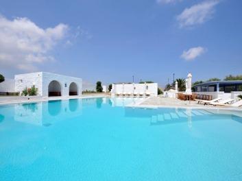 villa piscine paros