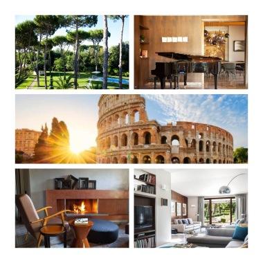 villa de luxe à Rome