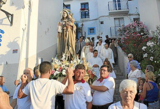 Ibiza, procession de la Vierge du Carmel
