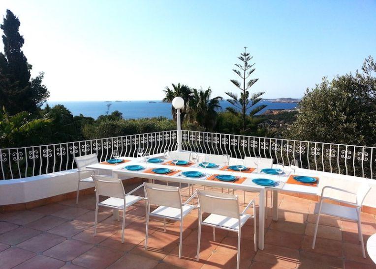villa de luxe bord de mer Ibiza