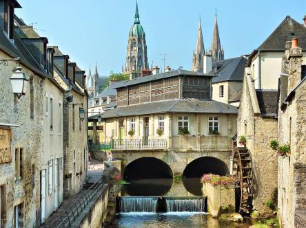 Normandie, chateau de luxe