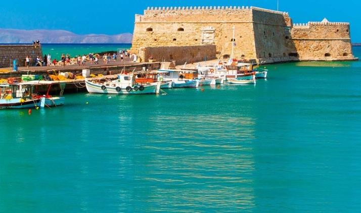 location crete