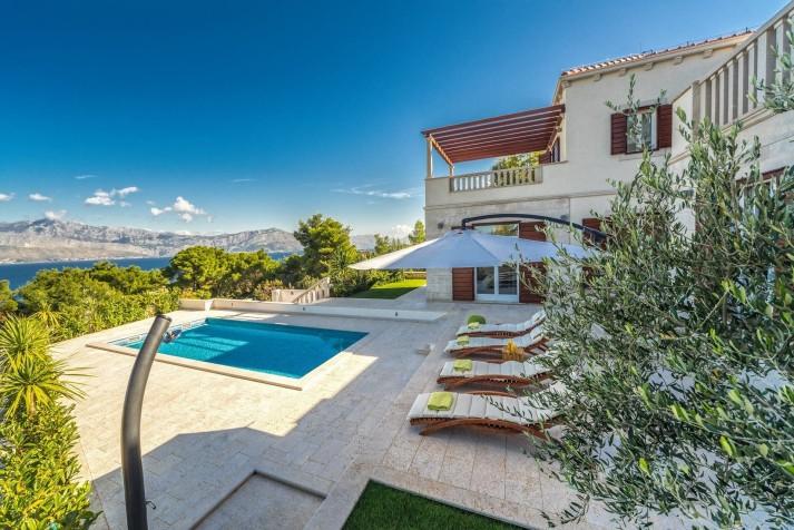 location villa croatie