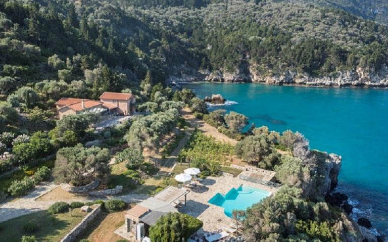 location villa grece